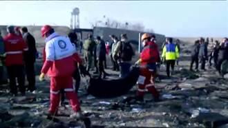 烏克蘭墜毀客機附近 似有飛彈碎片