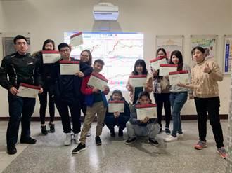 培養未來求職技能  華夏50學子考取金融資訊分析師