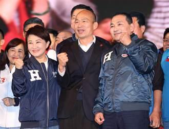 韓國瑜凱道造勢晚會 侯友宜:找回台灣人的精神