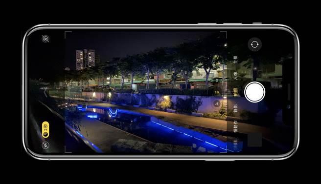 蘋果邀請 iPhone 11 系列用戶參與夜景照片挑戰賽。(黃慧雯攝、製作)