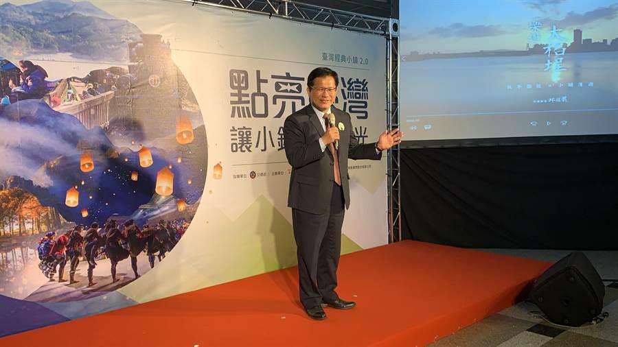 交通部長林佳龍。(潘千詩攝影)