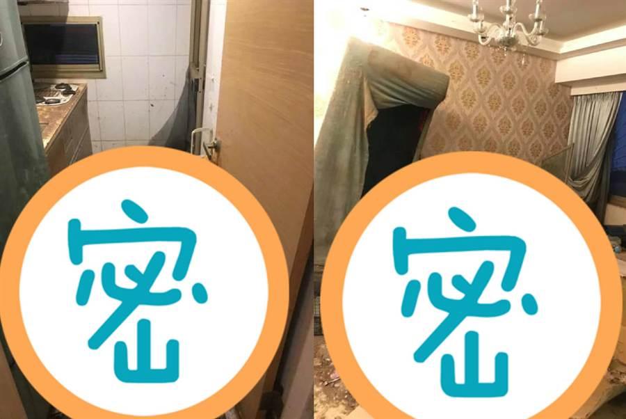 媽租房給女兒 3年後一開門不得了(圖翻攝自FB/爆料公社)
