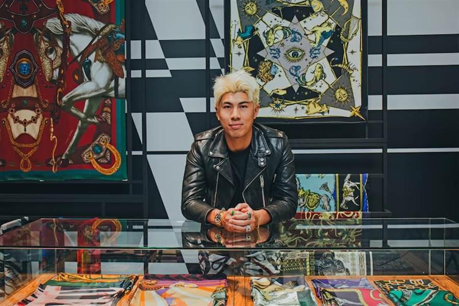 華裔時尚設計師Daniel Wong表示,這次的POP-UP STORE共有兩間櫃位大小,貨品相對完整。(Daniel Wong提供)