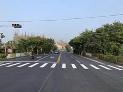 為中市道路燙平按讚!霧峰區福新路改善完工