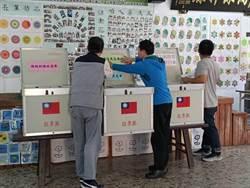大選前 嘉義縣最大投開票所開始布置
