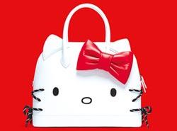 名牌包萌翻了 Hello Kitty袋著走