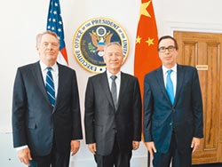 劉鶴13日赴美 簽首階段經貿協議