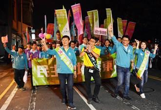 屏東立委第一選區決戰屏東市 選前之夜熱鬧滾滾
