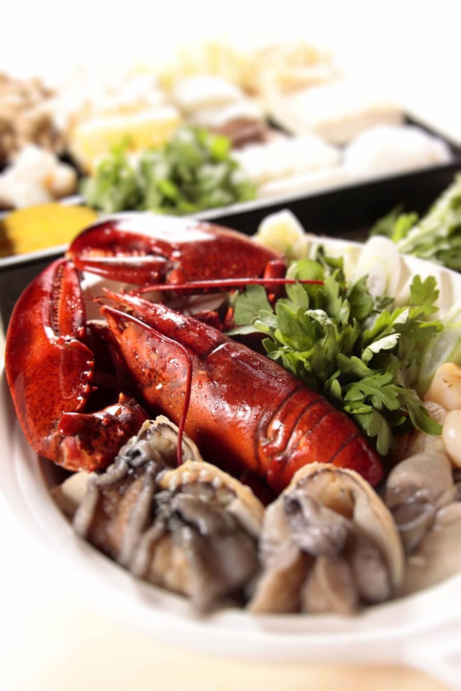 想同時享用海鮮與頂級肉品,可別錯過三燔日式火鍋集/圖片由遠東百貨提供