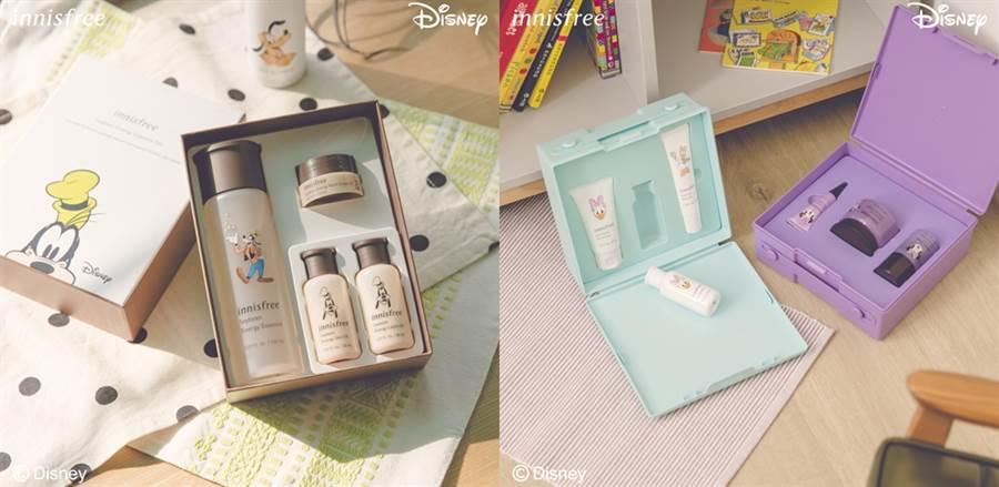 濟州寒蘭禮盒、香榧調理禮盒和發酵豆精華禮盒。(圖/品牌提供)
