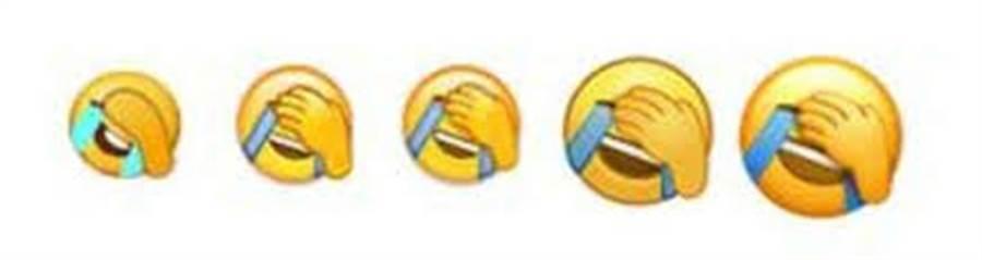 捂臉流淚苦笑表情符號。(網路圖片)