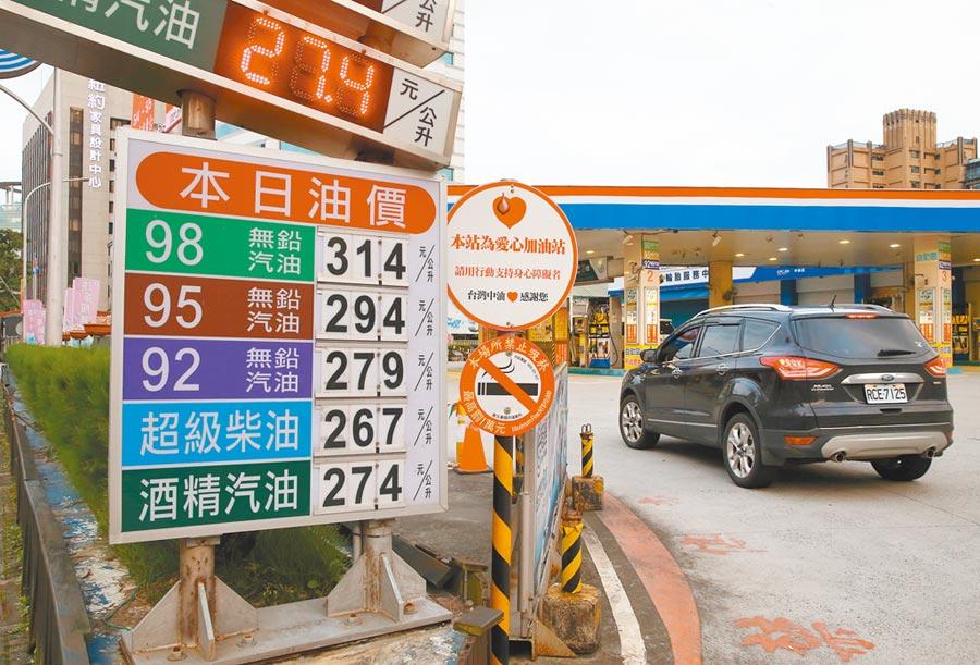 我石油安全存量超過100天,能源安全無虞。(本報系資料照片)