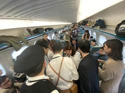 獨家》韓女遊客高鐵上昏倒 眾人合力搶救