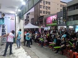 台南市第一選區立委票開出5成  蔡育輝落後近萬票