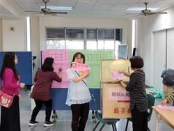 台南市蔡賴配得票率67.38%