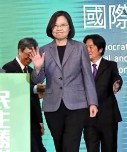 蔡英文:台灣人告訴全世界 多麼珍惜中華民國台灣