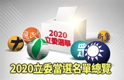 2020立委選舉當選名單總覽