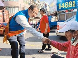 桃園第二選區 黃世杰車隊拜票選前告急 吳志揚掃街衝刺