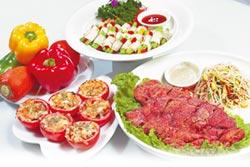 素食年菜輕鬆做澎派又健康原素食府祥和蔬食料理秀招牌菜祕訣