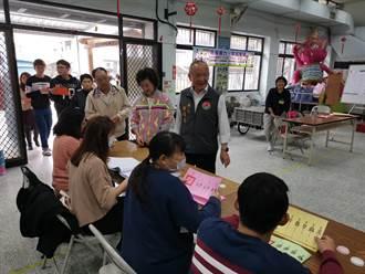 徐耀昌上午完成投票 期許當選者為民服務