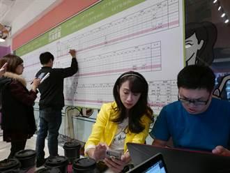 台北》北市第七選區許淑華自行宣布落選 費鴻泰當選