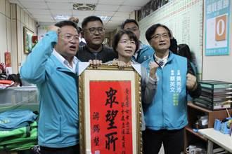 彰化最膠著第二選區 黃秀芳連任