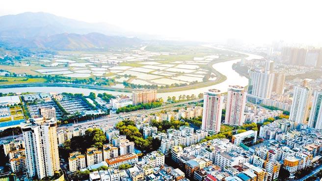粵港澳大灣區的深圳河。(中新社資料照片)