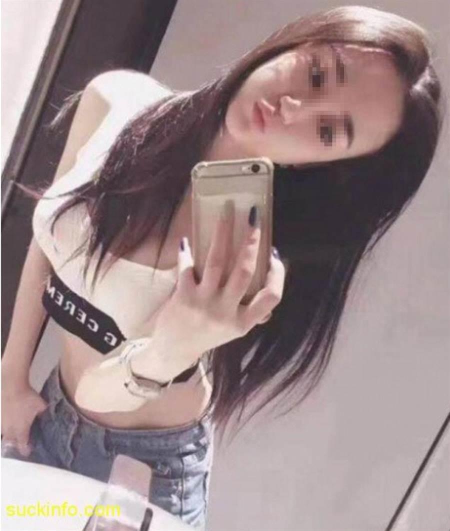网传被精液呛死女子照片。(照片来源:《中国报》/网路)