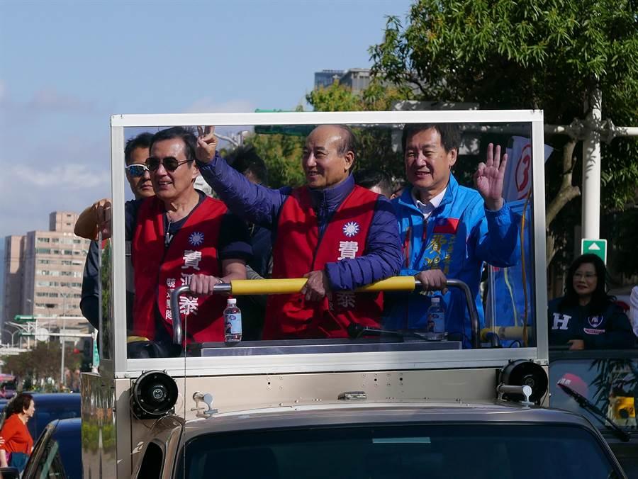 費鴻泰在立院表現不僅讓馬英九、王金平在選前合體為他站台,也獲得選民青睞分裂投票。(本報資料照片)