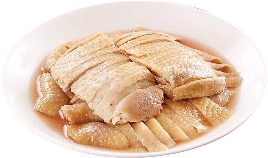 台北福華飯店的〈紹興醉雞〉是熱銷年菜,光是雞腿原料就進貨達2公噸。圖/台北福華飯店