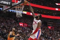 NBA》活塞續賣籃板王 跟尼克要這兩人
