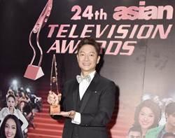 恭喜謝祖武榮登「亞洲視帝」!出道36年首次得獎