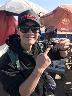 張勛傑北非摩洛哥生蠔狂嗑吃整攤 一顆竟然只要這價錢!