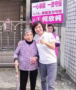 全國第一高票何欣純  2022台中市長民進黨熱門人選