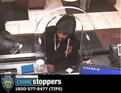 美紐約新法 男搶4銀行免錢交保出來又去搶了1家