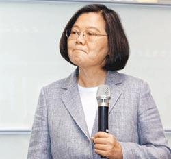 NHK稱 蔡主張對陸強硬獲勝