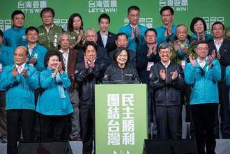 選後接見美日代表 蔡英文盼爭取友好國家支持