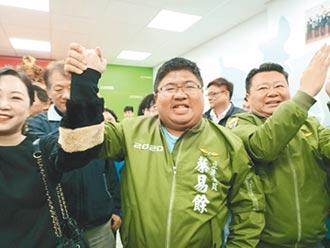 嘉縣第一 第二選區 綠油油蔡易餘大贏 陳明文得票未如預期
