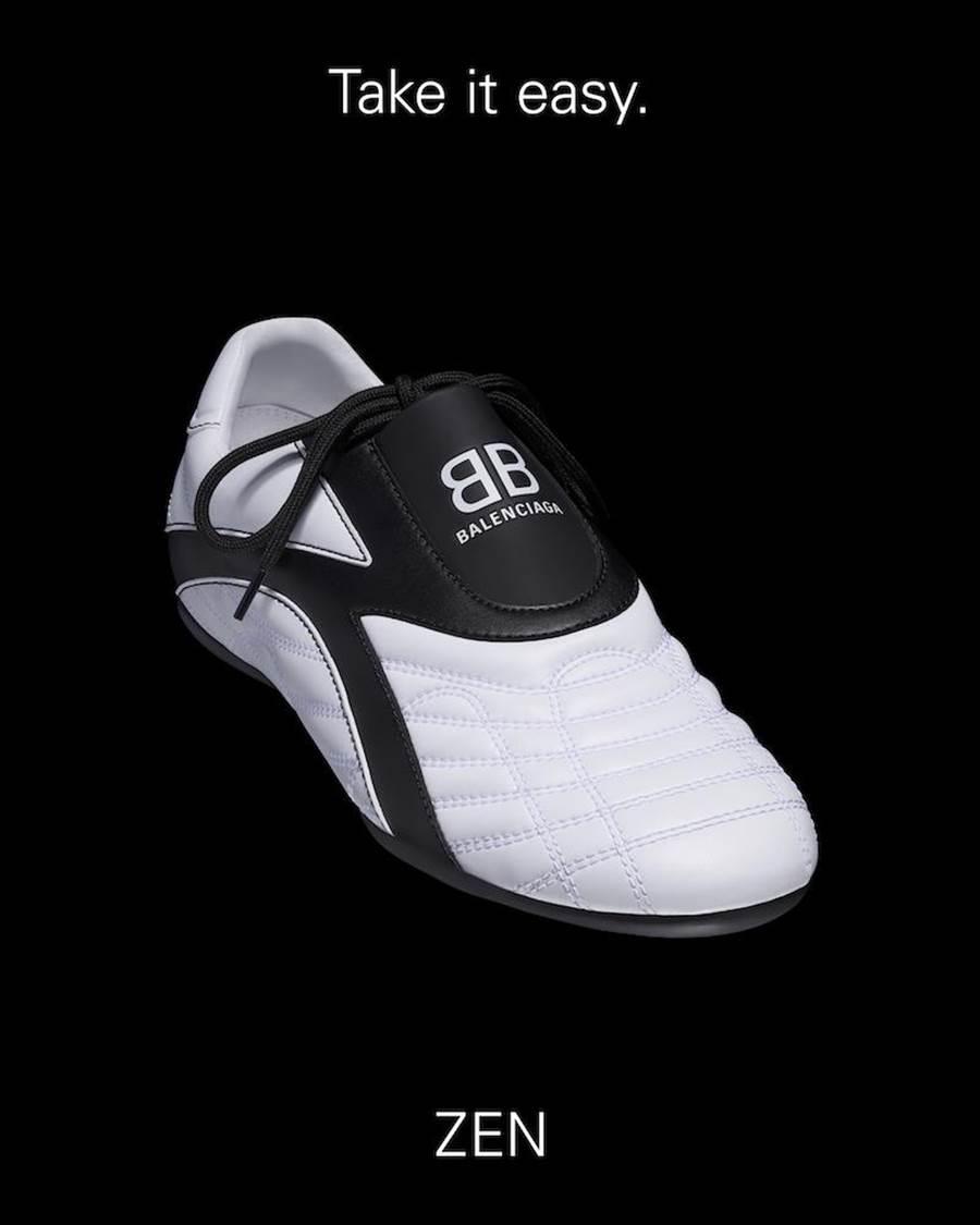 Balenciaga ZEN運動鞋,1萬8450元。(Balenciaga提供)