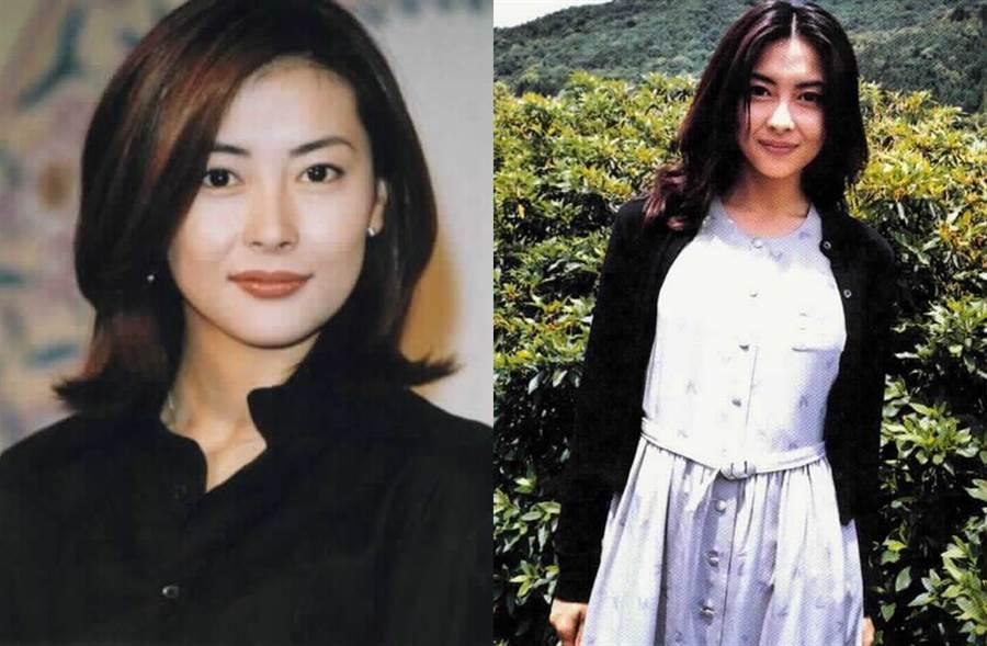 中山美穗因電影《情書》紅遍亞洲。(圖/本報系資料照)
