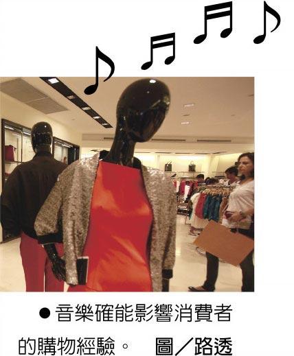 音樂確能影響消費者的購物經驗。圖/路透