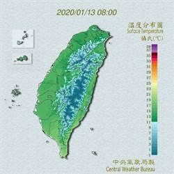 吳德榮:明天白天起氣溫漸升