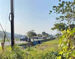 台18線發生貨車、機車對撞事故 騎士當場失去生命跡象