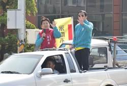 蔡培慧在選區展開謝票 允諾為鄉親的服務不打烊