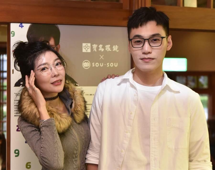 寶島眼鏡喜迎40週年,與京都著名文青潮牌聯名推出系列商品,引起追求日系時尚潮流的年輕族群們關注。(聯勤公關提供)