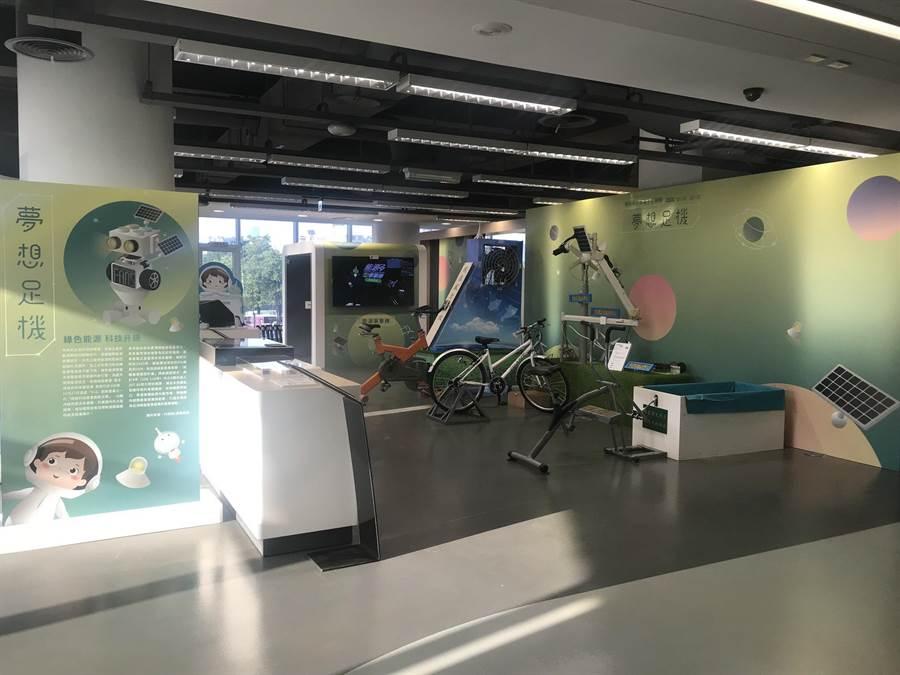國資圖與虎尾科大聯合舉辦「夢想足機—機械與光學電子主題展」,在國資圖展出至5月10日。(國資圖提供/陳淑芬台中傳真)