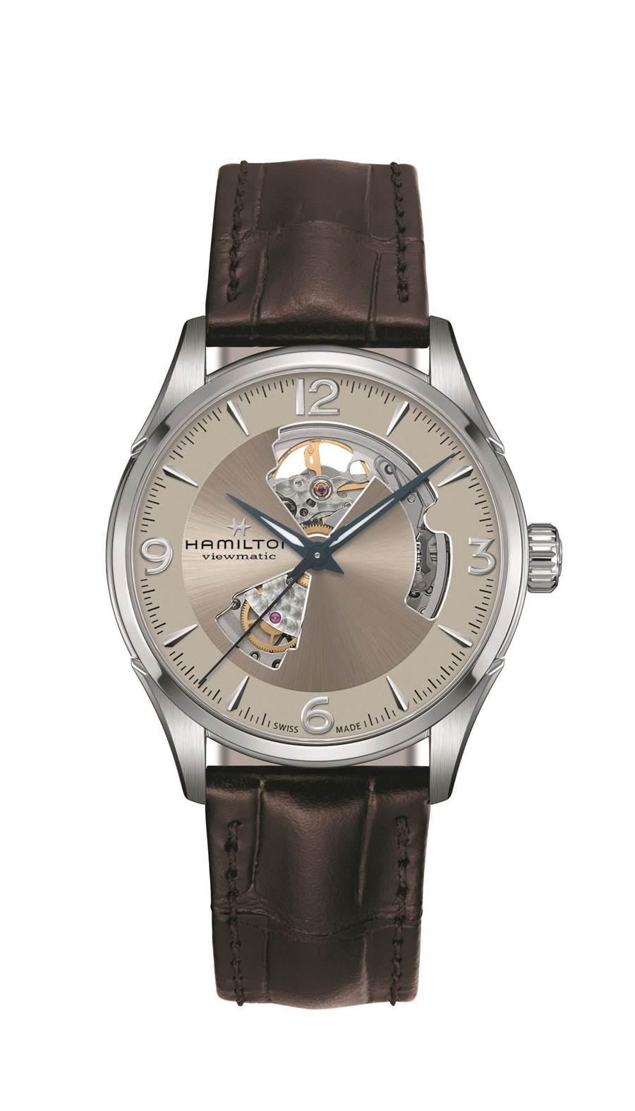 漢米爾頓爵士動芯鏤空腕表,3萬2300元。(HAMILTON提供)