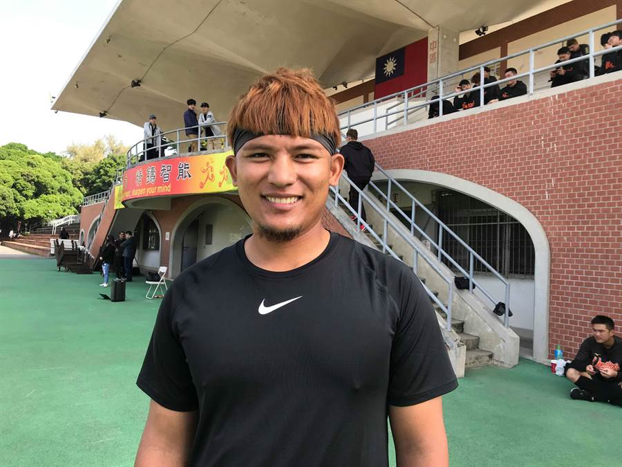 統一獅第一號捕手林祐樂,希望有再打國家隊的機會。(鄧心瑜攝)