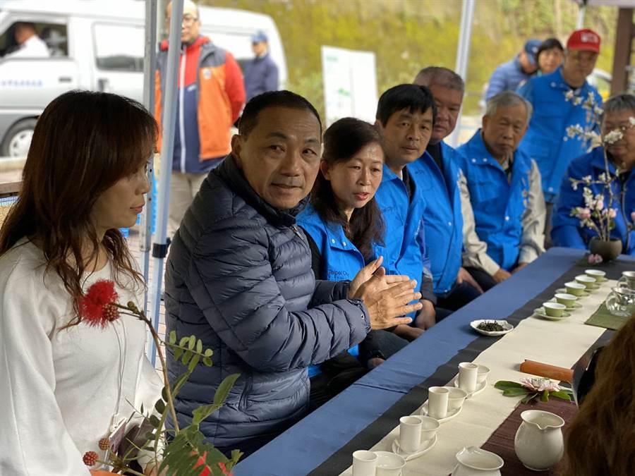 侯友宜表示,國民黨內部只要齊心協力、團結一致,一定能解決問題。(張睿廷攝)