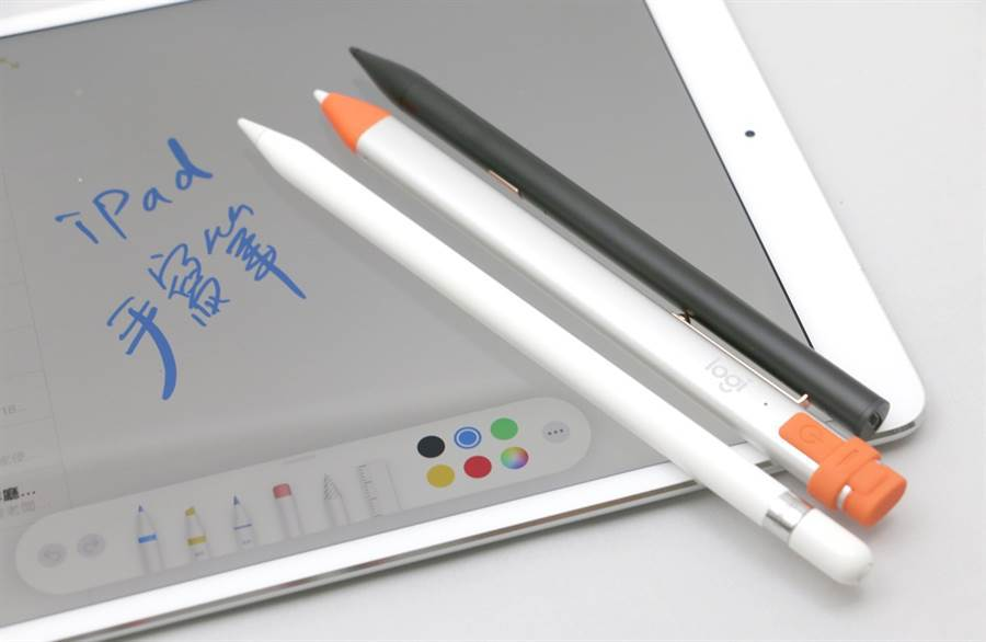 蘋果在Apple Pencil又添加了不少功能,未來不單只是觸控筆的功能。圖/黃慧雯